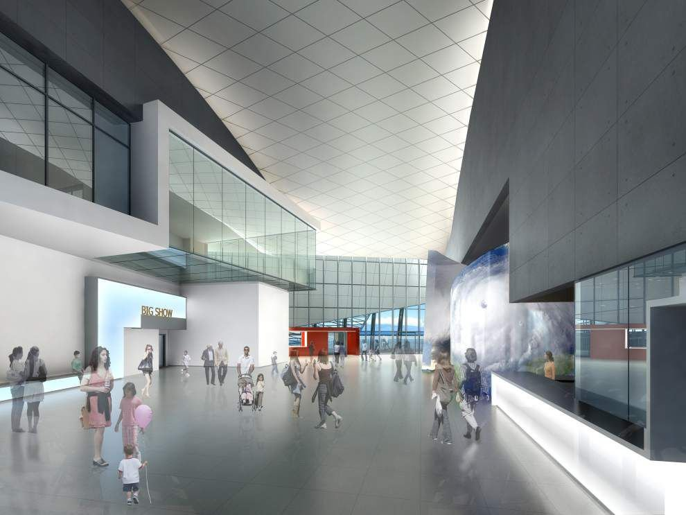 Fundraising is steaming ahead for National Hurricane Museum & Science Center planned in Lake Charles _lowres