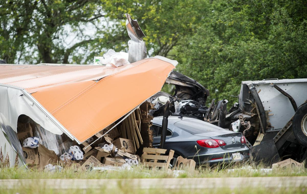 Victim identified in five-vehicle, fatal crash on I-10