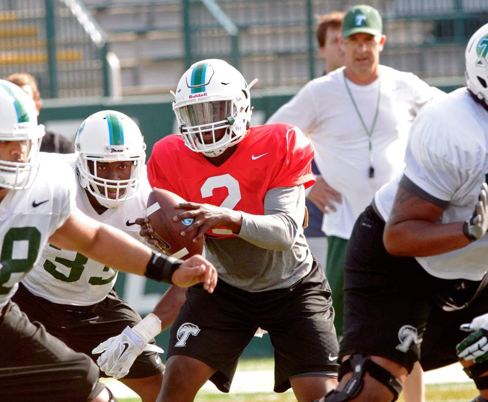 Tulane spring game: Quarterbacks Darius Bradwell and Glen Cuiellette get their chance to make a first impression _lowres