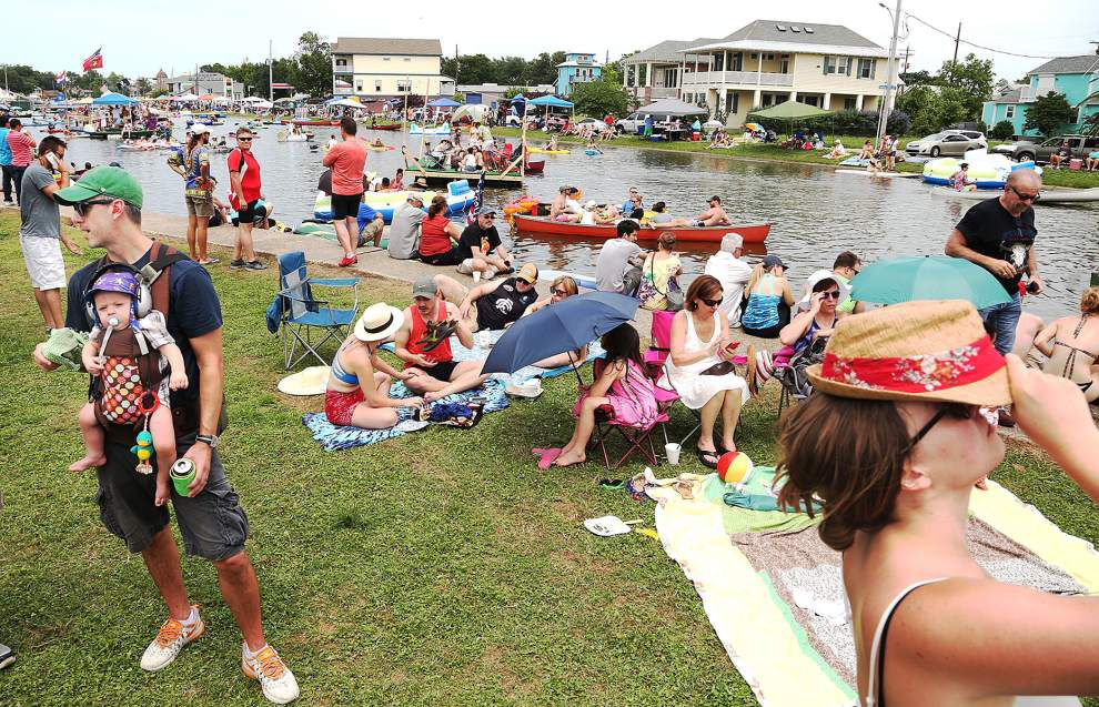 2016 Bayou Boogaloo rated a success despite fence controversy and theft of $6,000 from VIP bar _lowres