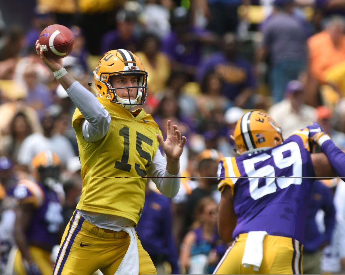 LSU QB Myles Brennan leads the Tigers with explosive pass ...