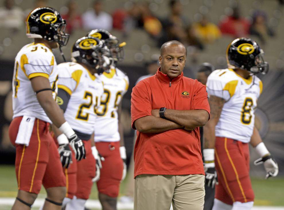At Grambling, under coach Broderick Fobbs, lofty expectations are the norm again _lowres