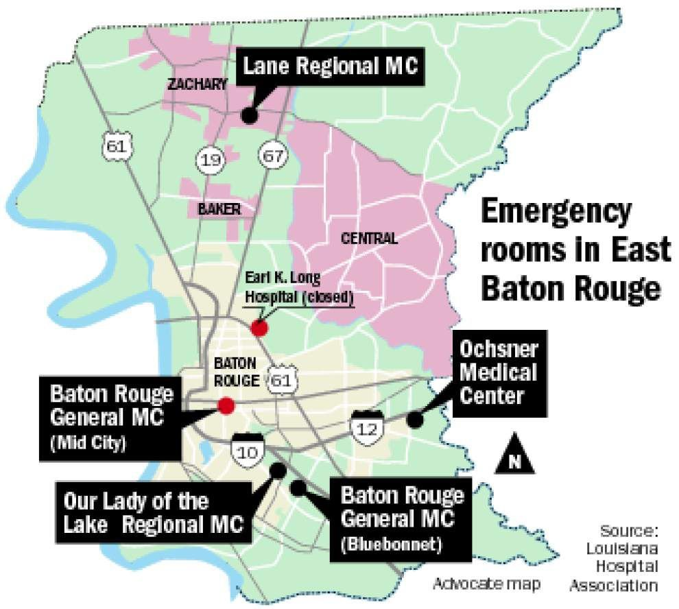Baton Rouge General to close its Mid City emergency room _lowres