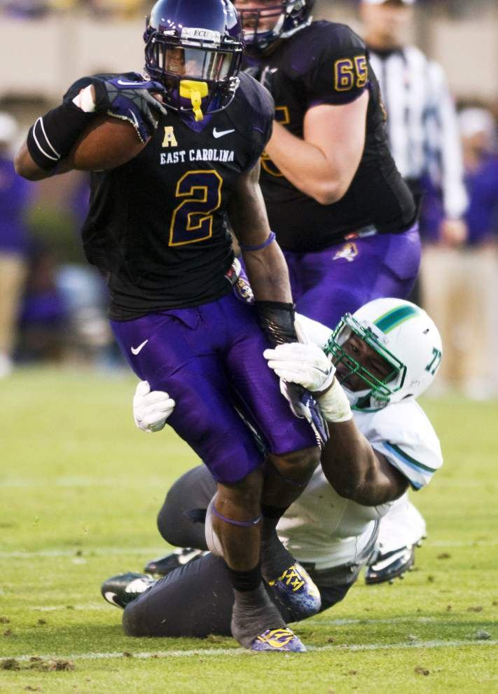 Tulane loses 34-6 to East Carolina, but Green Wave defense puts in solid effort _lowres