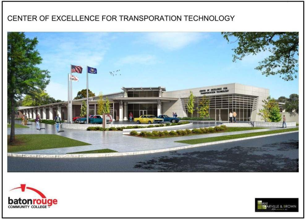 BRCC transportation technology training center construction starting _lowres