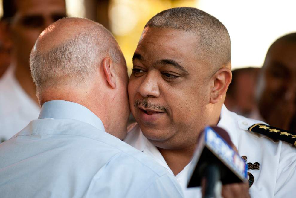 Landrieu names Michael Harrison permanent New Orleans police chief _lowres