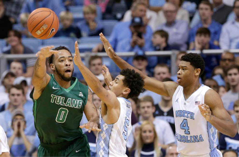 Brice Johnson sparks No. 11 North Carolina to rout of Tulane _lowres