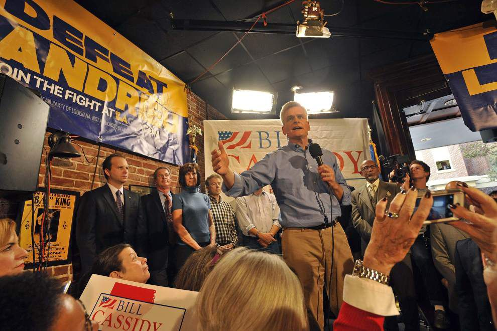 Republicans rally for Bill Cassidy _lowres