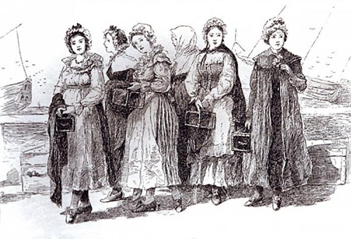 300 Casket Girls