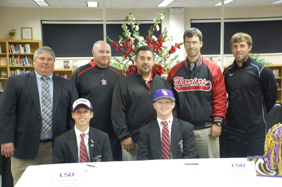 St. Michael seniors sign letters of intent _lowres