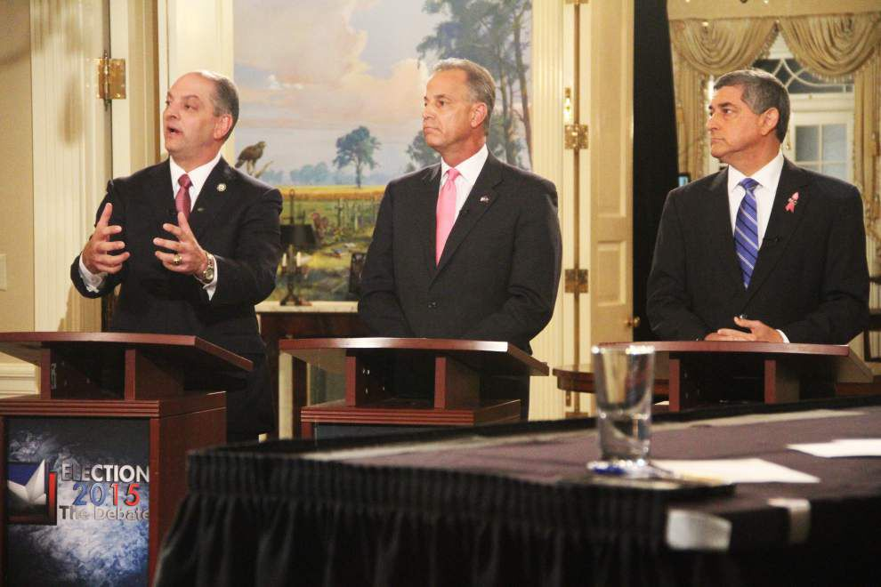 Three Louisiana governor candidates criticize David Vitter's absence from Monday's debate: 'We have a candidate who has no courage to come here' _lowres
