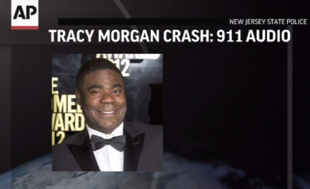 N.J. 911 calls released from Tracy Morgan crash _lowres