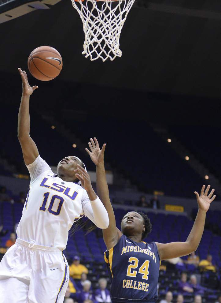 Lady Tigers bench carries load in 96-35 win over Mississippi College _lowres