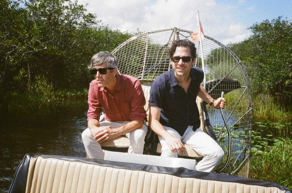We Are Scientists dishes about Louie's Cafe, US vs. UK, and their debut appearance in BR _lowres