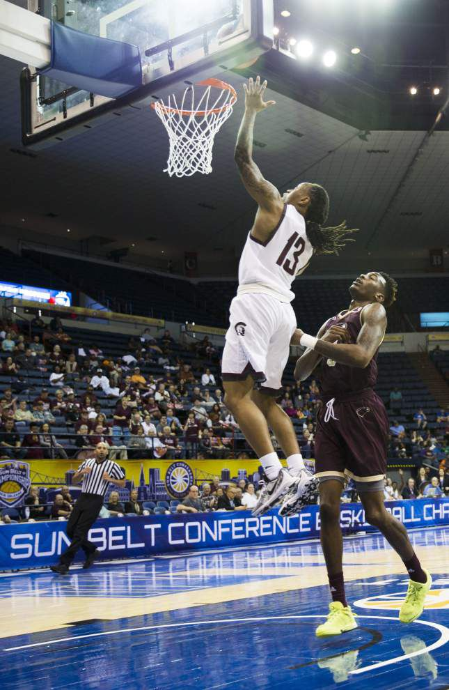 Little Rock dominates 2nd half to beat UL-Monroe 70-50 in Sun Belt final _lowres