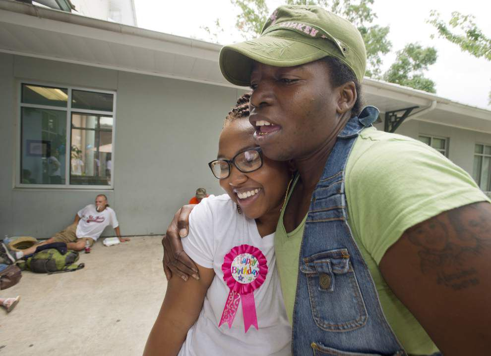 BR woman celebrates birthday by giving back _lowres