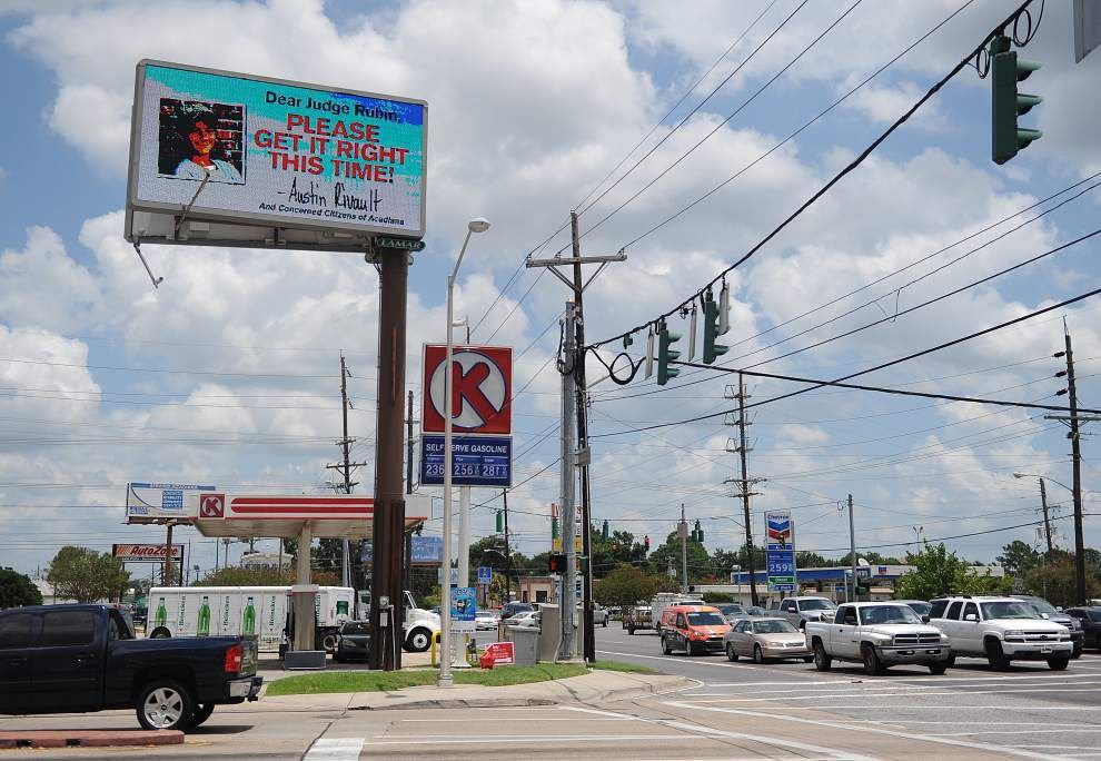 As Seth Fontenot resentencing approaches in shooting death of teen and injuries of two others, billboard weighs in with its own opinion _lowres