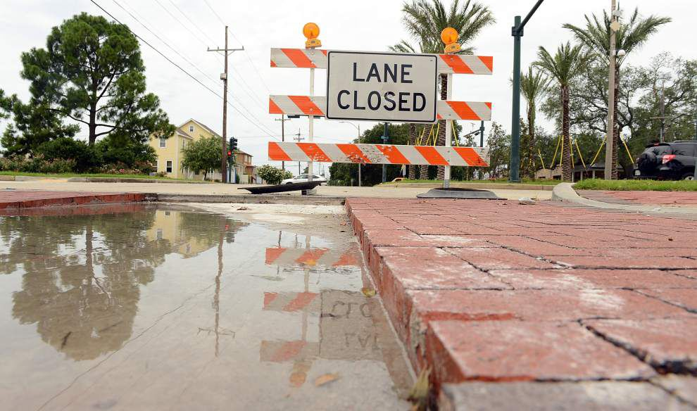 Crews return to Harrison Avenue to fix poorly done improvements _lowres