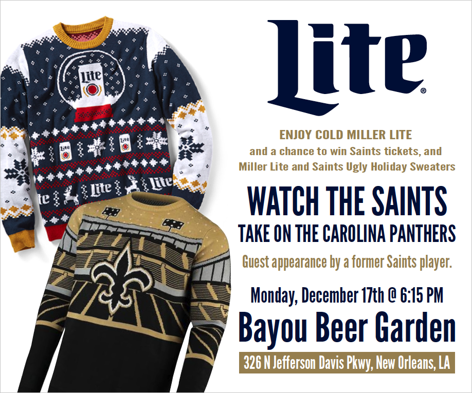 Miller/Saints Party