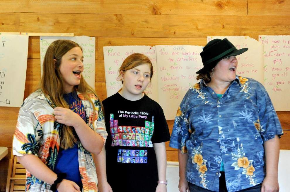 Drama camp takes Doyle on lighthearted romp _lowres
