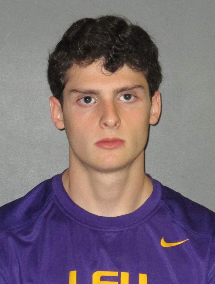 LSU student arrested, accused of punching female student at frat house, breaking her nose _lowres