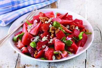 Strawberry & Watermelon Salad _lowres