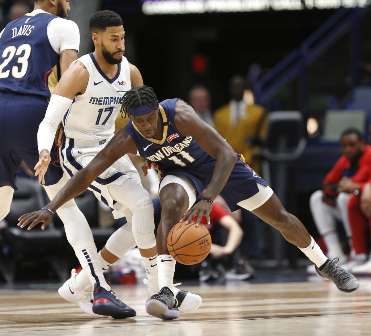 Grizzlies Pelicans Basketball