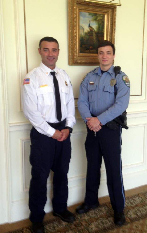 Kenner fire captain who resuscitated woman hailed as firefighter of the year _lowres