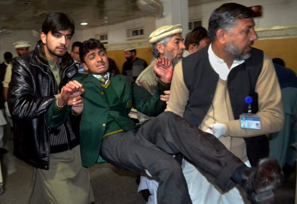 More than 120 dead -- mostly children and teens -- in Taliban school attack in Pakistan _lowres
