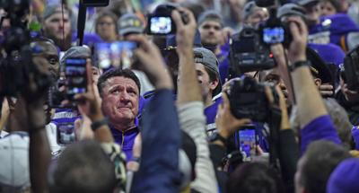 'For all of us': What a national championship would mean to LSU, Ed Orgeron -- and Louisiana