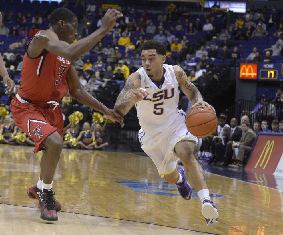 Opening tip: McNeese State at LSU men's basketball _lowres