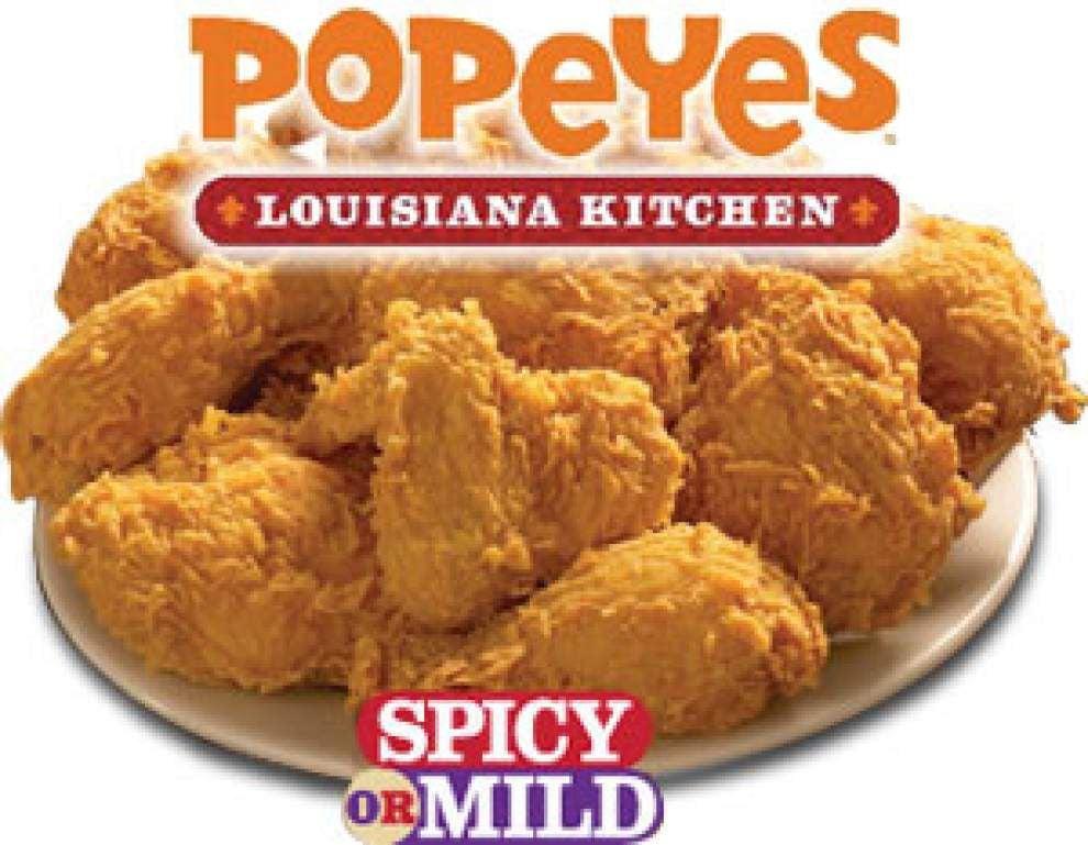 Popeyes fried chicken logo - photo#49