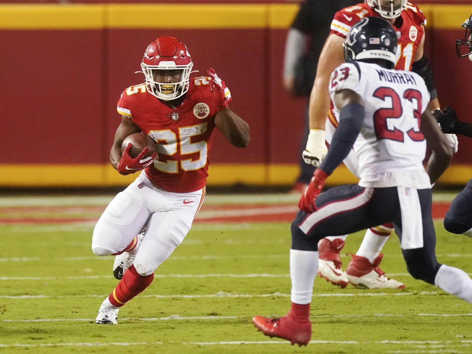 Clyde Edwards-Helaire runs for 138 yards, first NFL TD in Chiefs' 34-20  victory over Texans | Sports | theadvocate.com