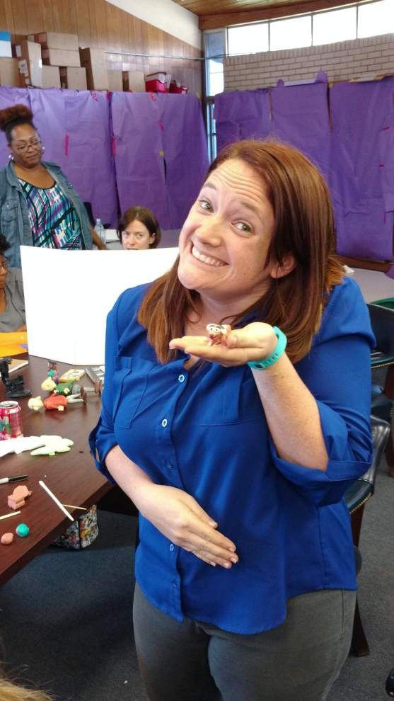 Young Audiences Charter School teachers learn about stop-motion animation _lowres