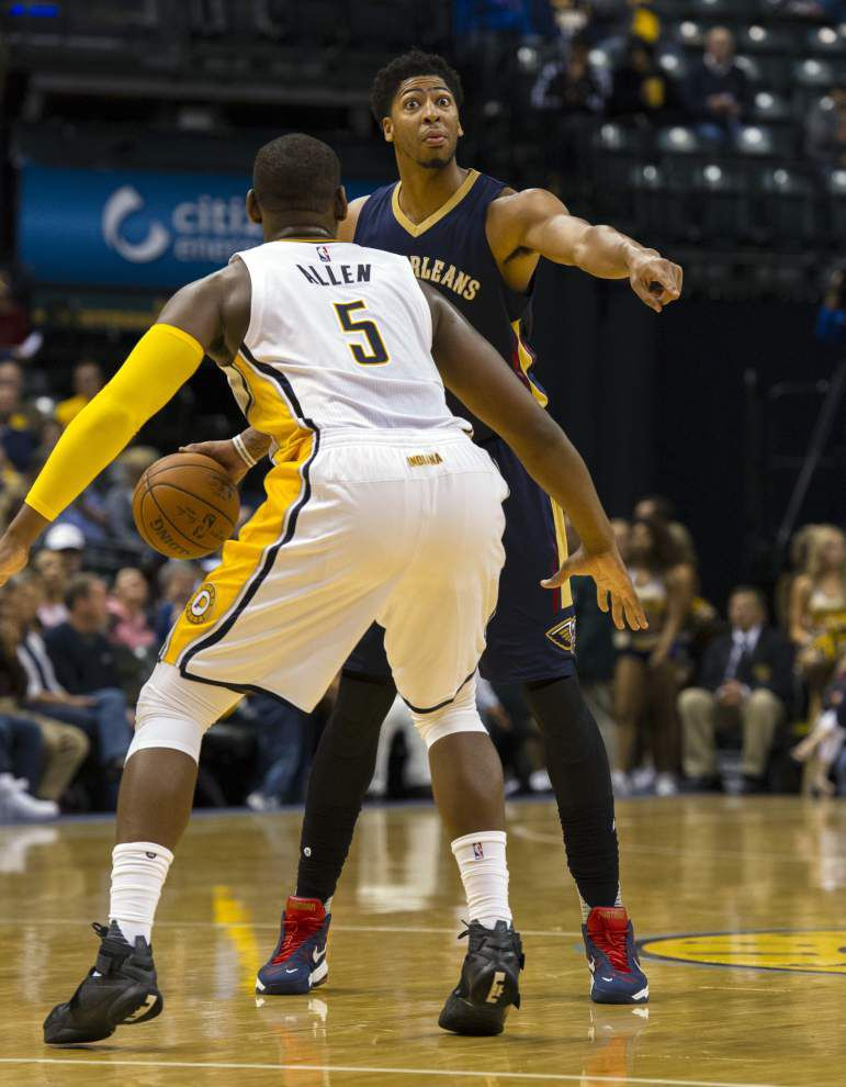 Pelicans set their new pace, topple Pacers 110-105 _lowres
