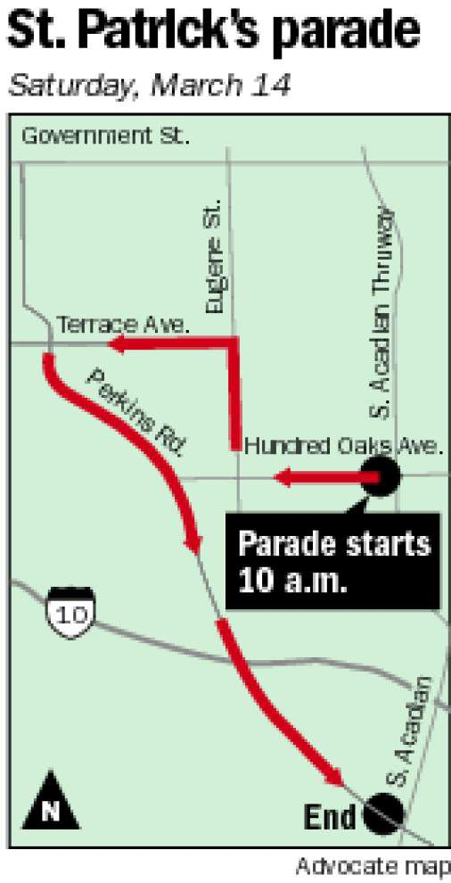 What you need to know about Baton Rouge's St. Patrick's Day parade _lowres