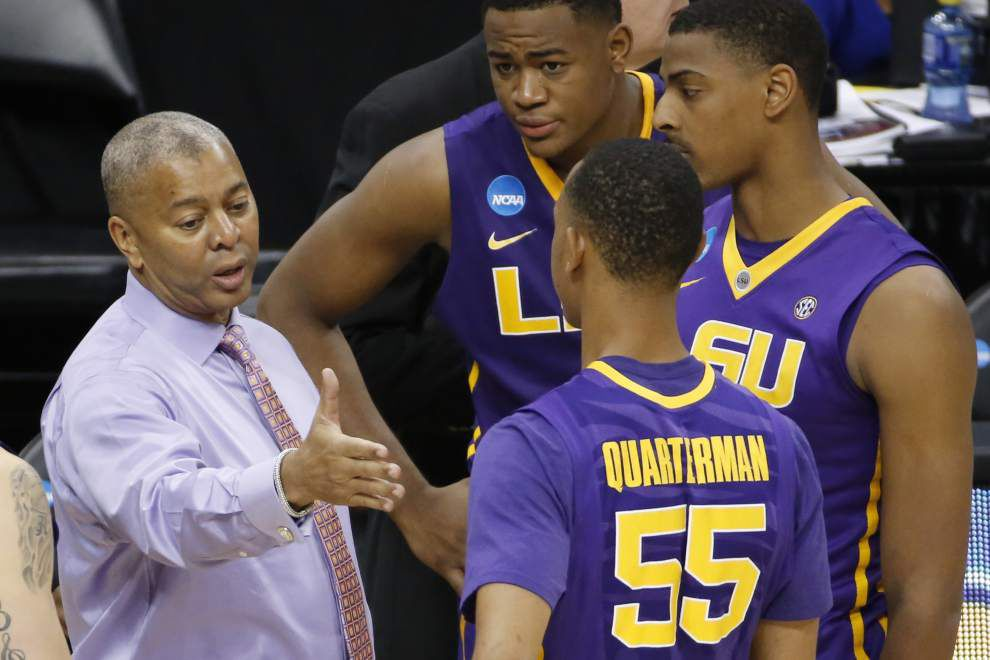 Possible future first-round pick Tim Quarterman enjoys Tigers' NBA draft party _lowres