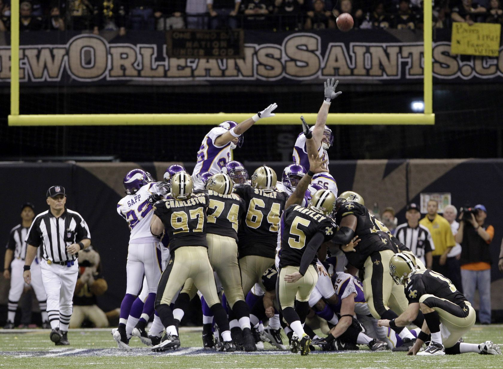 For Garrett Hartley, a fall came after his Saints heroics, but he