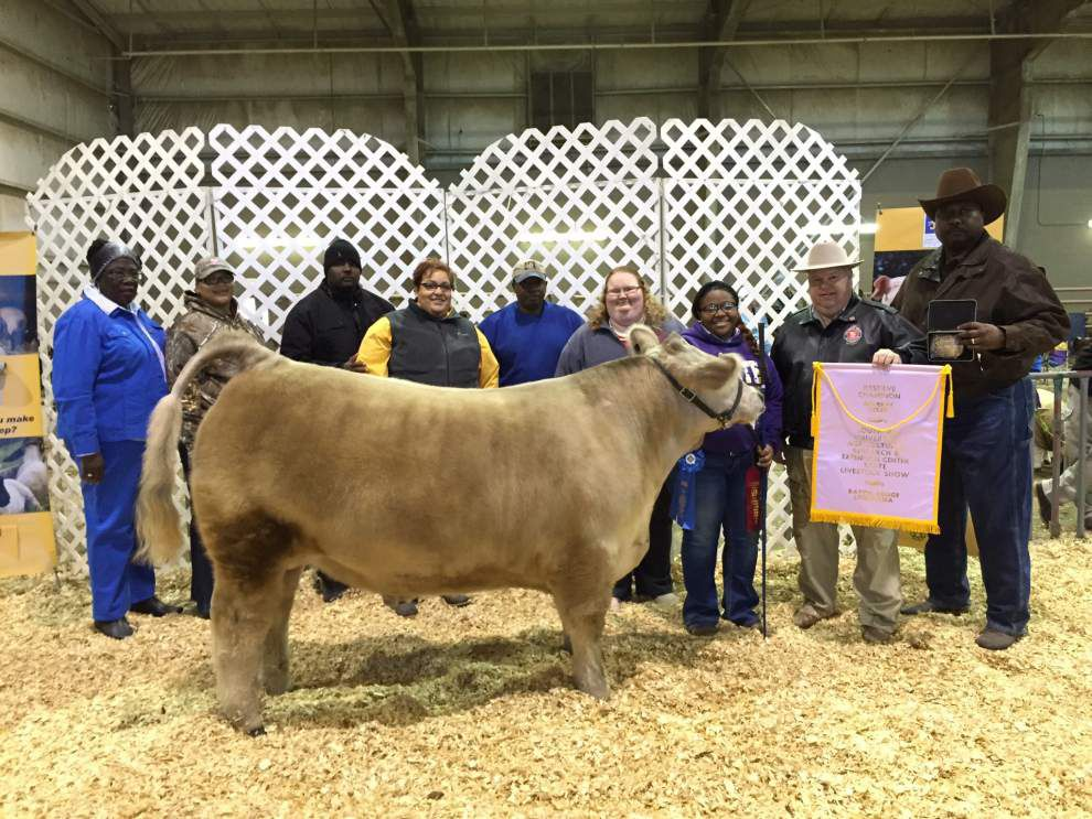 St. Helena students participate in Southern livestock show _lowres