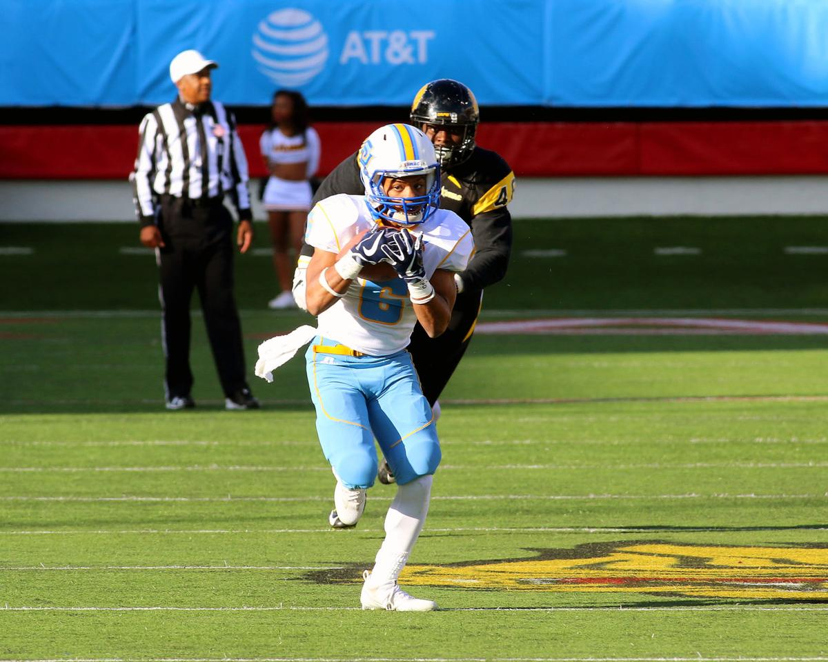 Southern University vs. UA-Pine Bluff played at War Memorial Stadium, Little Rock.