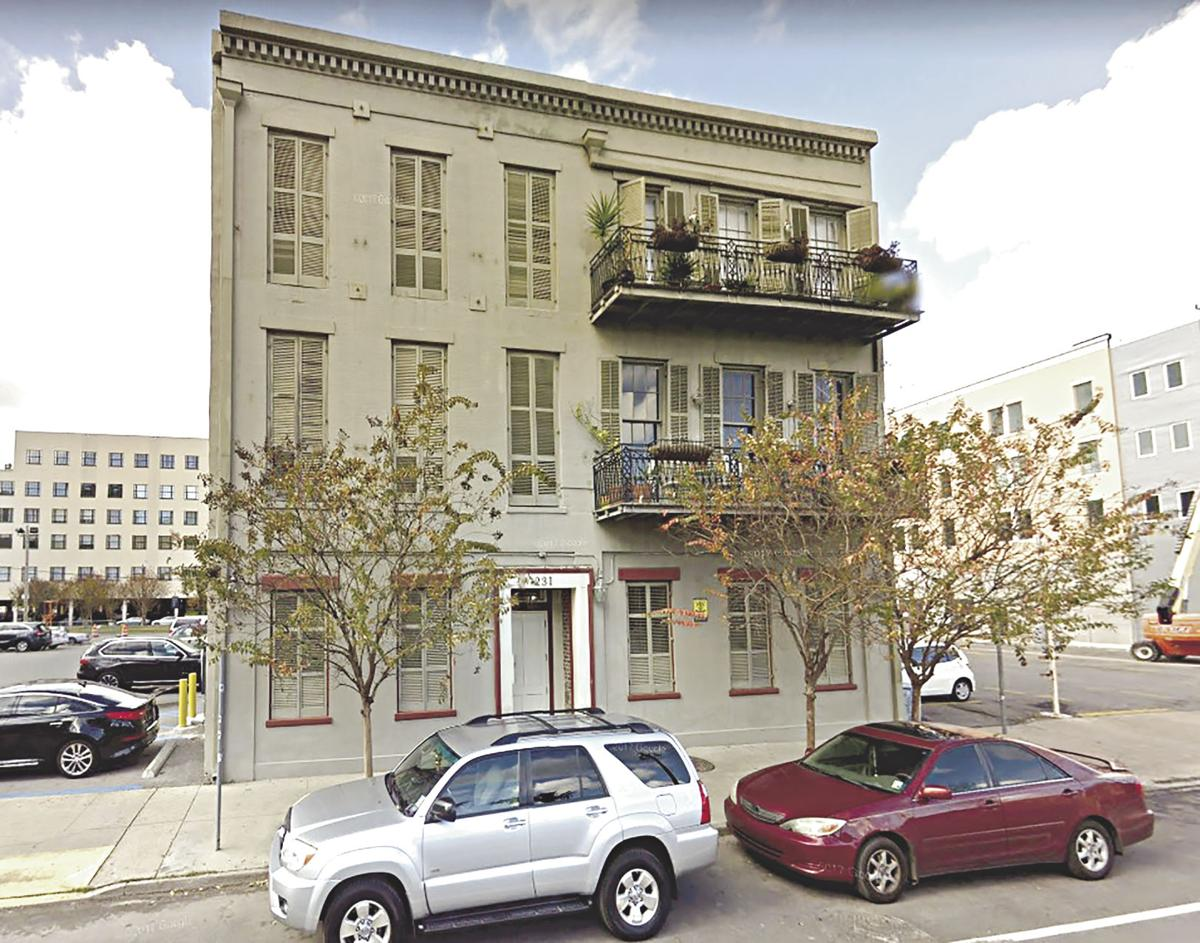 231 North Rampart, No. 6 in the French Quarter and near Treme