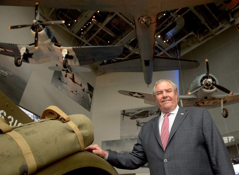 New Orleans' National World War II Museum receives largest gift in its history from shipbuilding magnate Boysie Bollinger _lowres