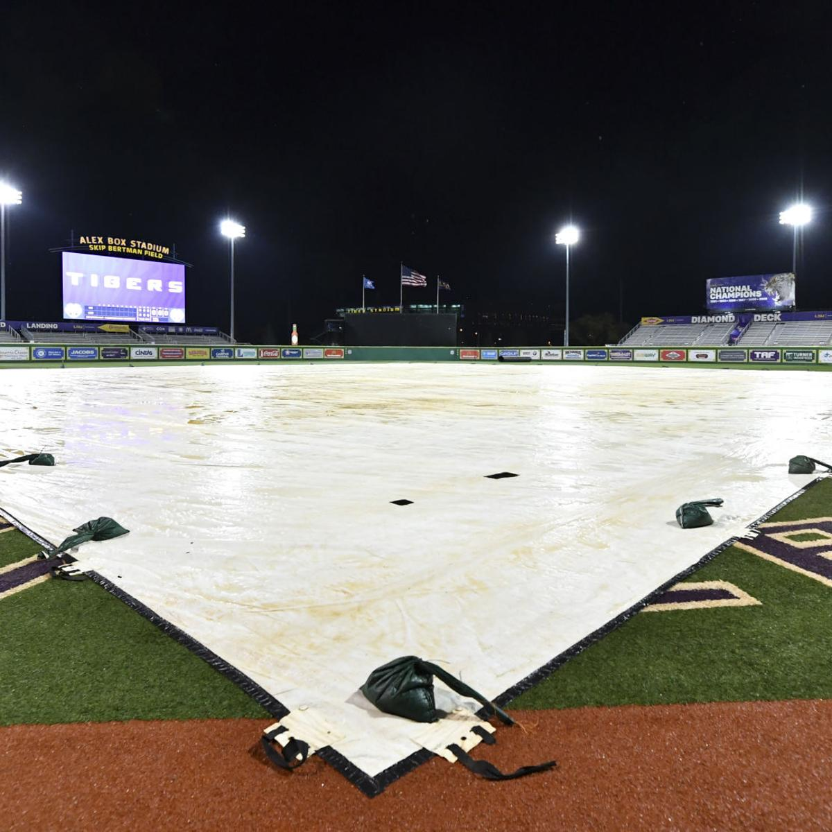 Severe weather forecast makes LSU and Texas A&M ponder