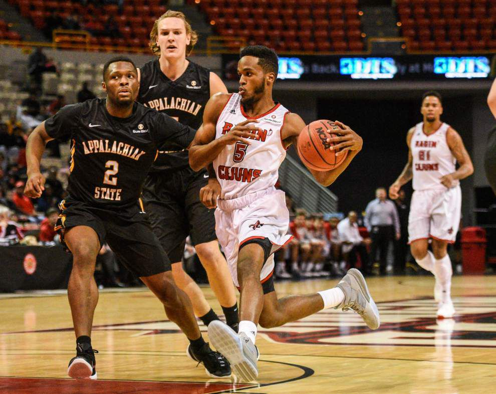 Coach Bob Marlin says Cajuns rely on guards _lowres