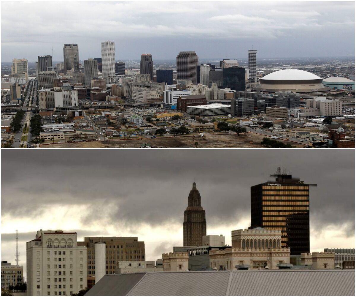 New Orleans, Baton Rouge