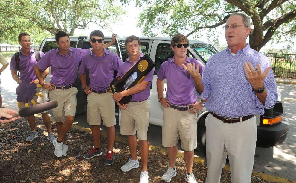 LSU's young but talented men's golf team ready for season _lowres