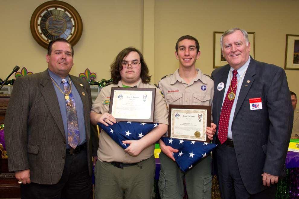 National Elks leader is welcomed with honors in Metairie _lowres