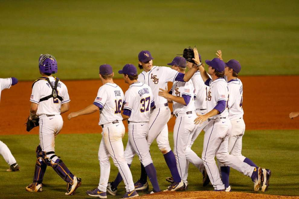 It's SEC championship weekend, here's when LSU baseball plays next, whom they'll face, more _lowres