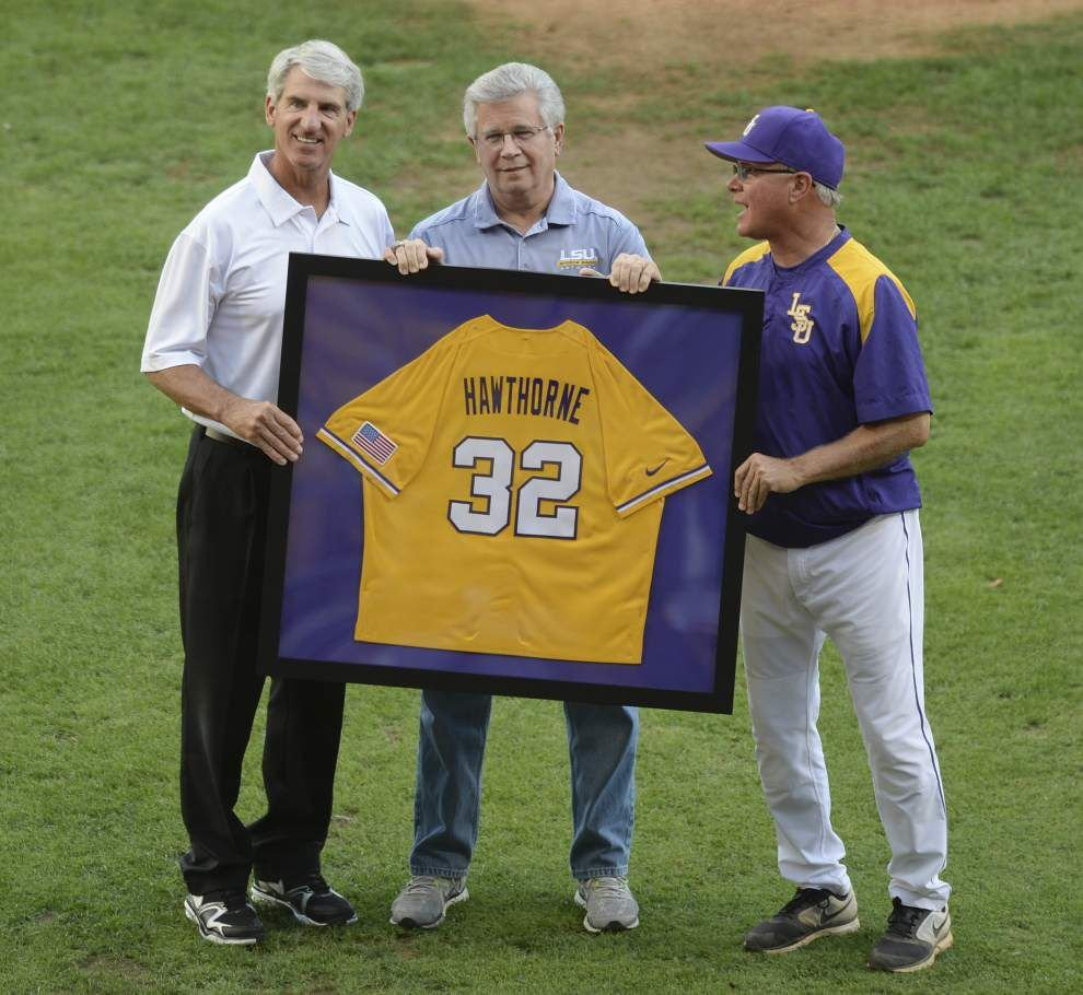 LSU's 'Voice of the Tigers' Jim Hawthorne honored by Louisiana lawmakers _lowres