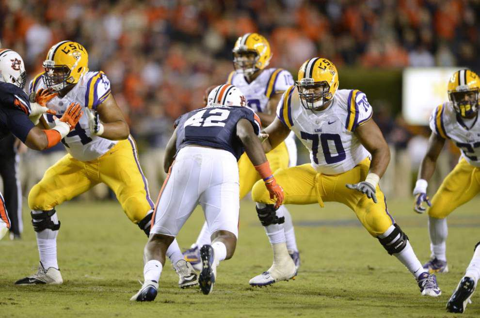 Video: LSU left tackle La'el Collins says he wants to take everything in when he plays his last game for the Tigers in the Music City Bowl _lowres